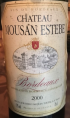 Château Mousan Estebe
