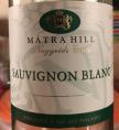 Mátra Hill Sauvignon Blanc