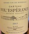 Château Fol'Esperance