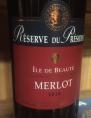 Réserve du Président Merlot
