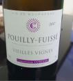 Pouilly Fuissé Vieilles Vignes