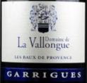 AOP Les Baux de Provences - Garrigues