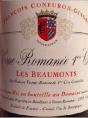 Vosne-Romanée Premier Cru Les Beaumonts