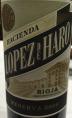 Lopez de Haro Reserva