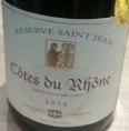 Reserve Saint Jean Côtes du Rhône