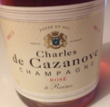 Charles de Cazanove Champagne Rosé