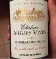 CHATEAU AIGUES VIVES CORBIÈRES BOUTENAC