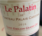 Le Palatin Saint-Emilion Grand Cru