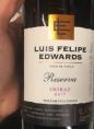 Luis Felipe Edwards Reserva Shiraz