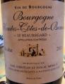 Bourgogne Hautes-Côtes-de-Beaune Le Beauregard