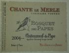 BOSQUET DES PAPES Chante Le Merle