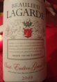 Beaulieu Lagarde - Saint-Emilion Grand Cru
