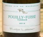 Pouilly Fuisse Terroirs