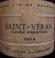 Saint-Véran Cuvée Prestige