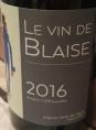 Le vin de Blaise 2016