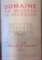Côte de Provence 2016
