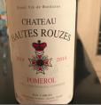 Château Hautes Rouzes