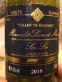Gilles de Beauvau - Muscadet Sèvre et Maine sur Lie