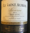 Le Saint Auriol Réserve