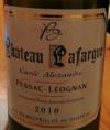 Château Lafargue Blanc Cuvée Alexandre