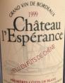 Château l'Espérance