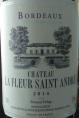 Bordeaux Château La Fleur Saint Andre