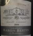 Château Baron Bertin Bordeaux