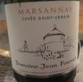Marsannay Cuvée Saint Urbain