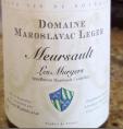 Meursault Les Murgers