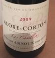Aloxe Corton Les Chaillots