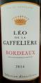 Léo de la Gaffelière Bordeaux