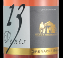 13 VENTS GRENACHE