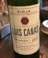 Luis Cañas Crianza