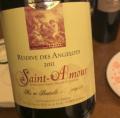 Réserve des Angelots Saint-Amour