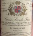 Bourgogne-Hautes-Côtes-de-Nuits Sainte Fleur La Traversenne