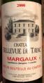 Chateau Bellevue de Tayac - Margaux
