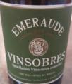 Vinsobres Cuvée Emeraude