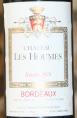 Château les Houmes