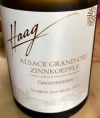 Alsace Grand Cru Zinnkoepfle