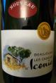 Beaujolais Nouvau les Cadoles d'Iconia