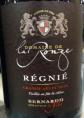 Régnié - Grande Sélection Vieillie en Fût de Chêne