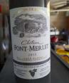 Château Font-Merlet Bordeaux Supérieur