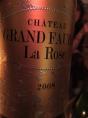 Château Grand Faurie La Rose