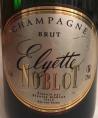 Champagne Elyette Noblot Brut