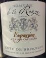 Côte de Brouilly - Expression Jean Braillo