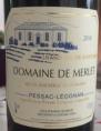 Domaine Merlet - Pessac Léognan