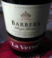 Barbera La Versa