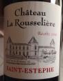 Château la Rousselière