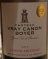 Château Vray Canon Broyer