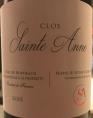 Clos Sainte Anne